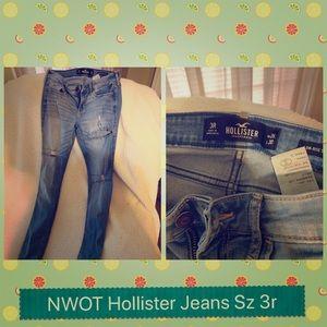 NWOT Hollister Jeans size 3r